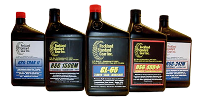 Picture of 5 RS Gear's lubricants